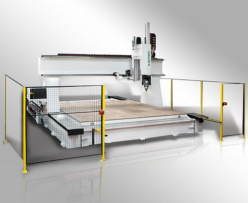 cnc legno work center for nesting designed for the production of large panels in series - Argo Gantry 5AFT