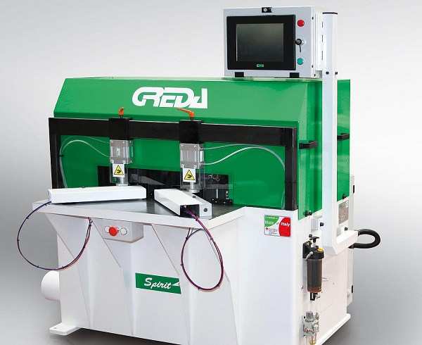 cnc woodworking mini machining center with two interpolated axes designed to perform head machining - Spirit CN
