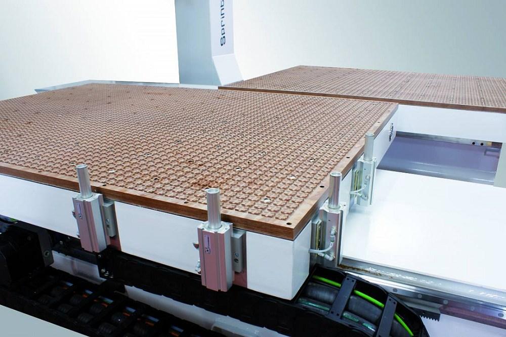 cnc lavorazione legno alluminio con Tavole mobili in bachelite