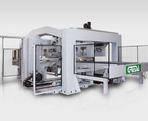 cnc dedicato alla lavorazione completa di bobine porta cavo - Argo Multiprocess